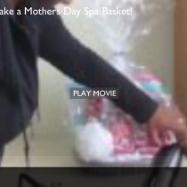 Mothers Day Spa Basket