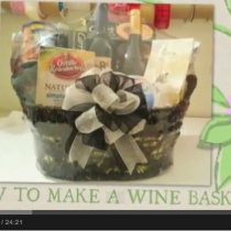 How to make a Wine Basket