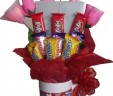Valentines Candy Bar Bouquet