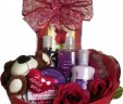 Women's Valentines Spa Basket